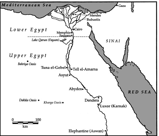 Individual - Map of ancient egypt for students